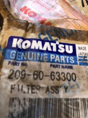 Komatsu 209-60-63300 Parts