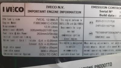 IVECO F3BE-9681C Complete Engine